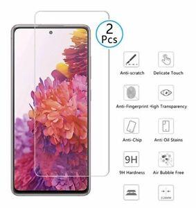 2X Samsung Galaxy S21 5G 9H Panzerfolie HD Echt Glas Display Schutz Klar HD