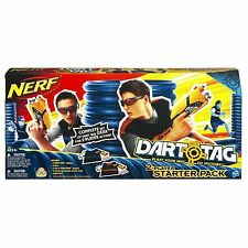 New Nerf Dart Tag 2 Player Pack Sharp Shot Blaster Vision Gear Training Jersey