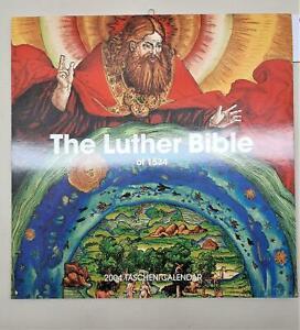 Calendario Calendar 2004 the Luther bible of 1534 Taschen