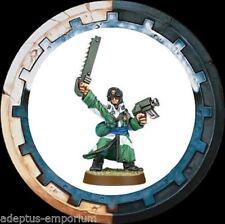 Rare OOP Pewter Warhammer 40k Imperial Guard Valhallan Sergeant 1 Unpainted