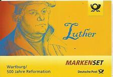 Markenset 500. J. Reformation Luther/Wartburg m. EVST BONN Vollstempel