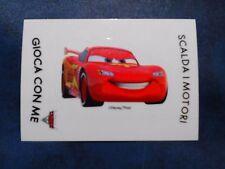 Adesivo Figurina Disney Pixar Esselunga Cars 2 Saetta McQueen Raro