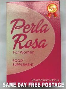 Perla Rosa Feel Good for Women Food Supplement - Derived from Plants - 12 PACK