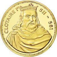Jetons & Médailles, France, Medal, Clotaire Ier (511-561), SPL+ #550637