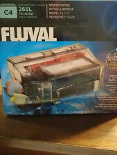 Fluval C4 Power Filter for aquariums between 40 to 70 gallons. Open box