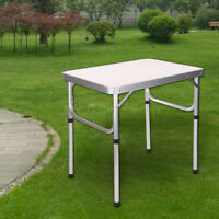 Heavy Duty Folding Table Portable Plastic Camping Garden Party Catering BBQ New