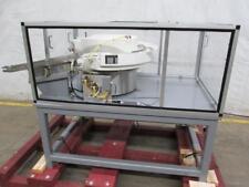 California Vibratory Bowl Feeder 21 Dia X 8 Deep With Steel Frame
