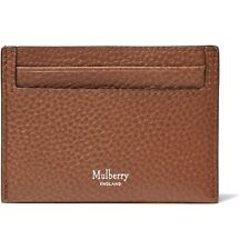 Mulberry Wallet - BNWT Natural Grain Tan Leather Card Holder Case Oak RRP:£100