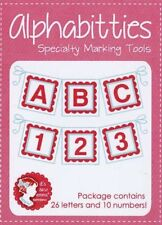 Alphabitties by Its Sew Emma - 26 Letters 10 Numbers -