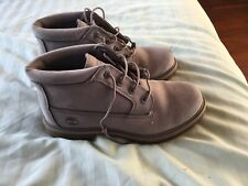 WOMENS SILVER GREY TIMBERLAND BOOTS SIZE  6 (UK)