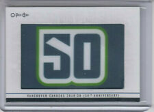 20/21 OPC Vancouver Canucks 50th Anniversary Update Patch card #332