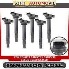 6x Ignition Coils fit Toyota FJ Cruiser Lexus GS300 GS450h IS250 2011-2013