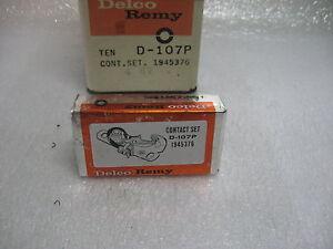 VINTAGE 1960 1961 CHEVROLET CORVAIR DELCO DISTRIBUTOR POINT SET GM 1945376 NOS
