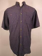 Nice Men's XL Wrangler Rugged Multi-Color Plaid Design Wrinkle Resistant Shirt