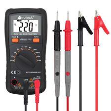 Neoteck Digital Multimeter Voltmeter Ac Dc Volt Current Tester Automanual Range
