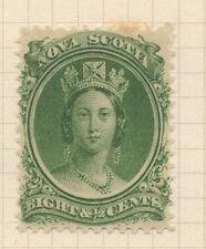 Mint Hinged Nova Scotia Canadian Stamps