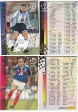 Panini FIFA WC coupe du monde 2002 JAPAN KOREA trading card no sticker 1 carte