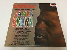 James Brown – Excitement : Polydor – PD 780 : Vinyl, LP, Album, NMINT/NMINT