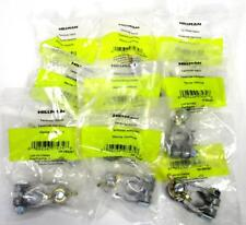 Lot of 10 Hillman Marine Battery Terminal Positive Negative w/Nut Top Post A-19
