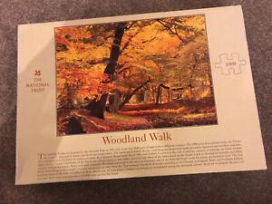 National Trust Woodland Walk jigsaw 1000 piece