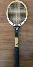 VINTAGE WILSON JACK KRAMER PRO MODEL SPEED FLEX FIBRE FACE TENNIS RACKET - WOOD