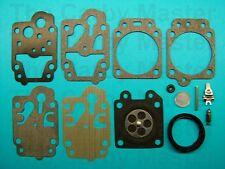 Walbro Replacement K20-WYJ Rebuild Kit fits Husqvarna, Tanaka, Kawasaki, more