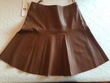 New Ralph Lauren Soft  Leather Skirt  - Size 8- $598
