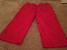 Danskin Now Women's ActiveWear Bottoms Nylon Capri Pants Lined Sz XL 16-18