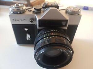 Ussr Zenit E  35mm vintage film camera working order