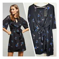 [ PORTMANS ] Womens Kiara Kimono Sleeve Dress NEW | Size AU 14 or US 10