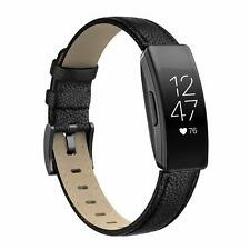 SWEES Leather Compatible Fitbit Inspire HR Bands/Fitbit Inspire Band Multi color