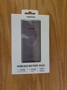 Brand New & Sealed-Samsung-10,000mAh Portable Charger Qi & USBEB-U3300XJEGUS