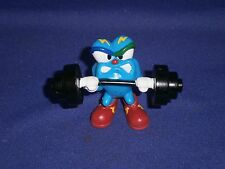 Vintage Weight Lifting Izzy 1996 Atlanta Olympics Mascot PVC Figure 2 inch