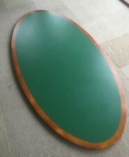 LARGE OVAL Table Top / Custom made / 8'x4' / 2440 x 120cm Approx.