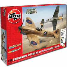 AIRFIX A50160 Spitfire MkVb Me Bf109e Dogfight Doubles Gift Set 1:48 Model Kit
