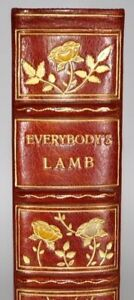 1933 Everybody's Lamb Essays of Elia Illustrated by Ernest H Shepard Binding