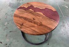 Coffee Table Epoxy X Walnut Wood