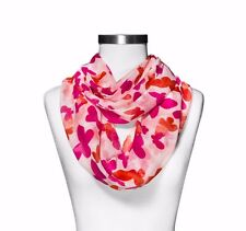 New Pink Infinity Scarf Women's Fashion Accessory