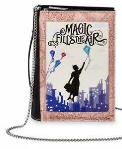 DANIELLE NICOLE X DISNEY MARY POPPINS RETURNS Book Clutch Bag NEW