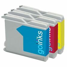3 C/M/Y Ink Cartridges to replace Brother LC970 & LC1000 non-OEM /Compatible