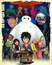 "070 Big Hero 6 - 2014 American Hot Movie Film 14""x18"" Poster"