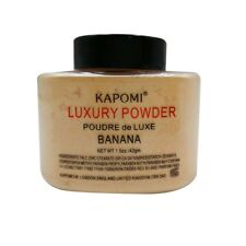 LUXURY BANANA POWDER BRAND NEW SEALED POUDRE de LUXE.1.5OZ (42g) FACE MAKEUP'
