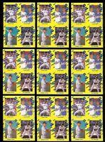 (9) CHIPPER JONES Atlanta Braves 1990 Classic Rookie Card RC LOT w/ Nolan Ryan