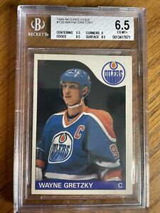 1985-86 O-Pee-Chee Hockey #120 Wayne Gretzky……BGS 6.5! ~Ex-Mint+~