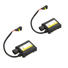 2X Xenon HID Replacement Digital DC Ballast Ultra Slim All Bulbs Fit 12V 55W US