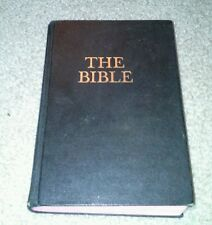 The Bible Revised Standard Edition Black Hardcover