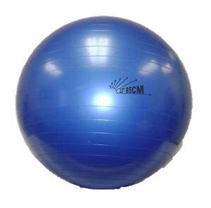 "Physio Balance Yoga Fitness 85cm Gym Exercise 33"" Inflatable G BALL Swiss PE New"