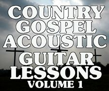 Country Gospel Acoustic Guitar Lessons Vol 1 Dvd Praise! All Your Favorite Songs
