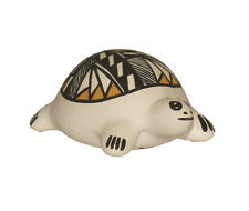 Turtle Figure by Mary Aragon, Acoma Pueblo