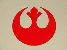 Rebel Alliance Logo Vinyl Decal Sticker Star Wars RED 2""